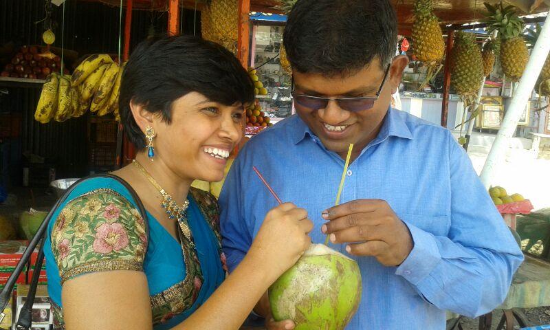 Satish and Yogita