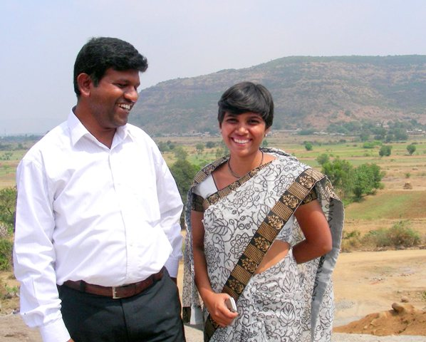 Yogita and Satish