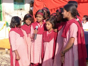 singers 300x225 Republic Day at Shikshan Gram