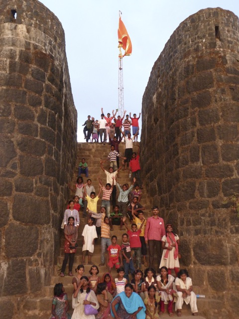 At the pratapgarh fort