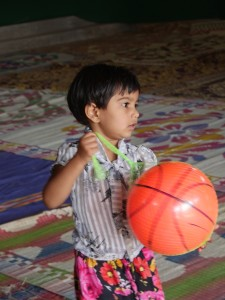 Pilu and ball